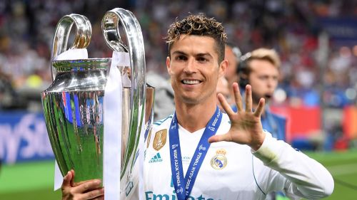 Ronaldo is the highest goalscorer in UCL history