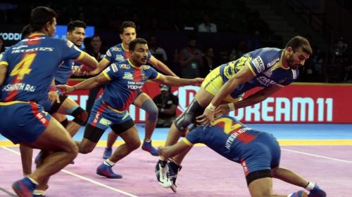 Ajay Thakur and co battled hard against UP Yoddha yesterday