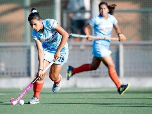 The Indian Women Hockey 5s team are in the quarters