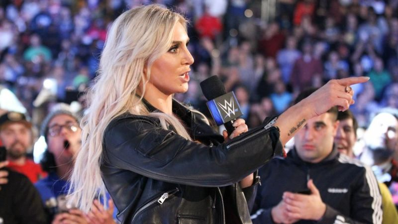Charlotte at Smackdown 1000
