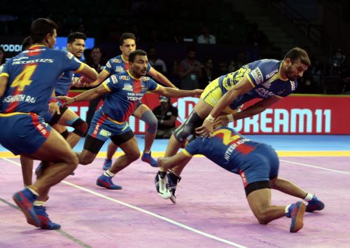 Ajay Thakur brought his side back but they fell short in the end