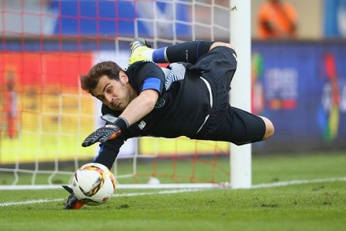 Former Spain and Real Madrid goalkeeper Iker Casillas