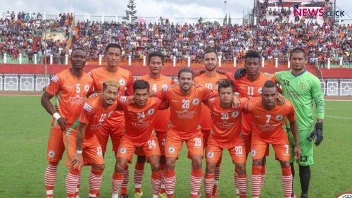 Neroca, who were impressive throughout the season, fought till the last match but had to finish behind Minerva Punjab FC (Image Courtesy: AIFF Media)