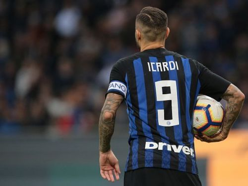 Icardi has a mixed relationship with the Inter fans