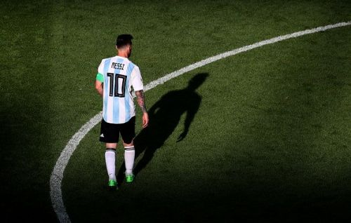 Messi and the other Argentine players seemed to be under immense pressure at the FIFA World Cup 2018