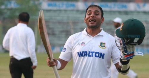 Tushar Imran becomes first Bangladeshi player to hit centuries in both innings of a first-class match more than once