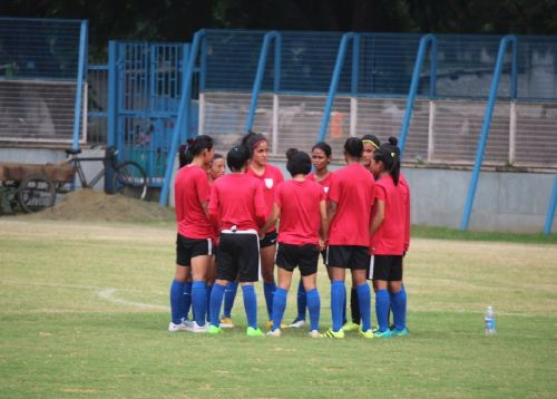 A file picture of the Indian national women's football team (Image: AIFF Media)
