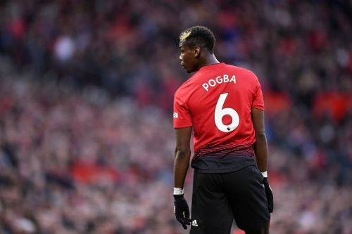 Paul Pogba has found himself in the eye of the storm time and again this season