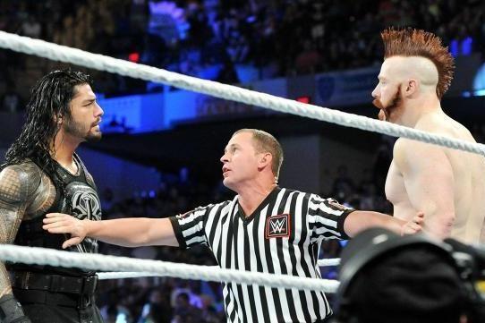 Roman reigns vs sheamus guest referee vince mcmahon