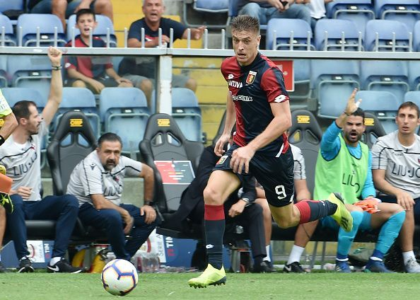 The Blues are said to be interested in Piatek