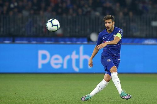 Fabregas was allowed too much time on the ball