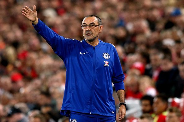 Sarri could look to bring in new talent in January
