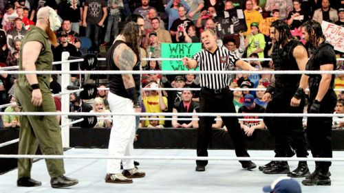 The Shield's encounter with The Wyatt Family