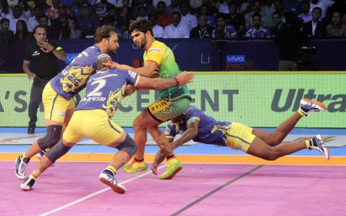 Pardeep Narwal was kept quiet by the Thalaivas defence