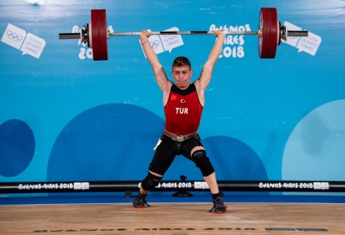 Silver medalist Caner Toptas of Turkey (Image Courtesy: IOC)