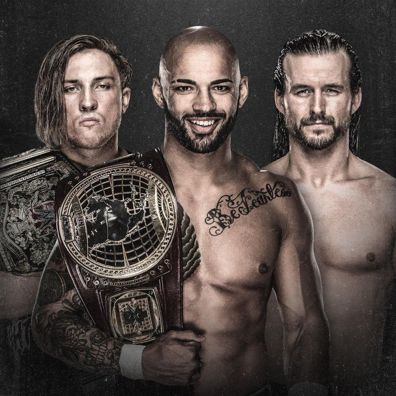 Huge Triple Threat North American Championship Title Match main event on NXT