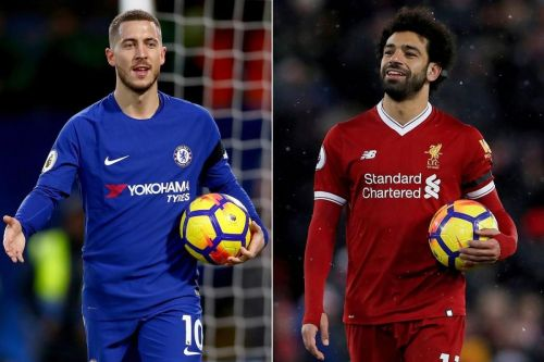 Eden Hazard and Mohamed Salah are among the best wingers in the world right now.