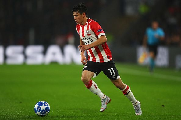 Hirving Lozano made a name for himself at the FIFA World Cup