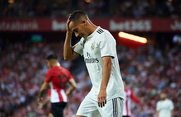 Vazquez often features from the Madrid Bench