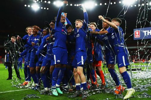Arsenal v Chelsea - FA Youth Cup Final: Second Leg