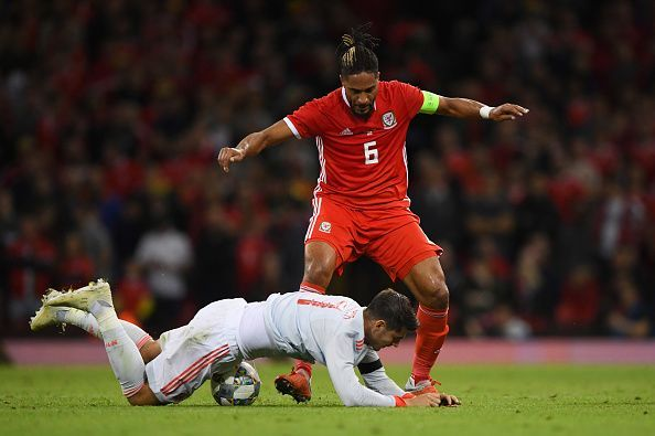 Williams, just like Gunter, struggled to cope with Spain's attacking prowess