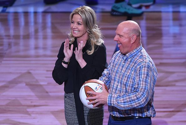 Los Angeles Lakers owner Jeanie Buss at the NBA All-Star Game 2018