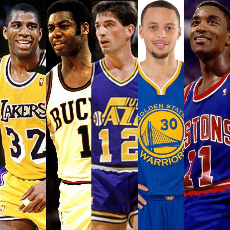 The greatest Point Guards in the history of the NBA