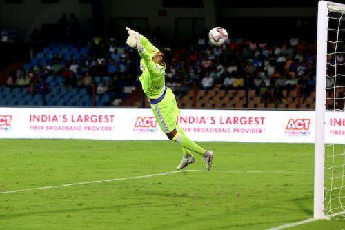 Gurpreet Singh has kept one clean sheet for Bengaluru FC so far [Image: ISL]