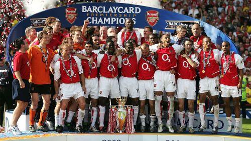 Arsenal Invincibles 2003/2004 squad