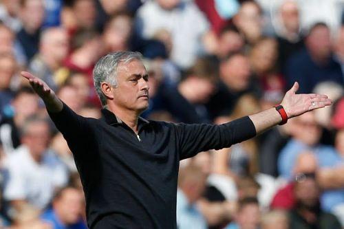 Mourinho has faced a torrid start to the season