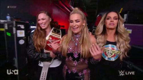 A feud betwen Ronda and Trish would have been electric