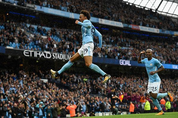 A class above. Manchester City's 100-point season was a first in Premier League history.