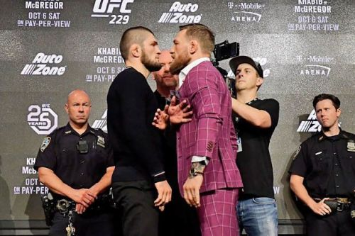 UFC 229 is one of the biggest shows in promotional history