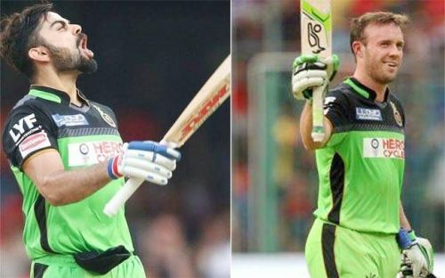 Virat Kohli and AB de Villiers have scored 6 centuries in total while playing for RCB