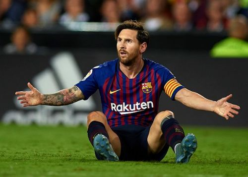 The Barcelona legend happens to be a vegan