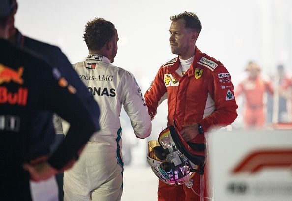 Hamilton and Vettel currently have four world championships each
