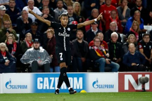 Mbappe has been in a brilliant form in the Champions League this season