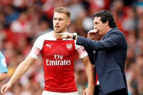 Arsenal fans are curious to know Emery's stand on the Ramsey contract situation