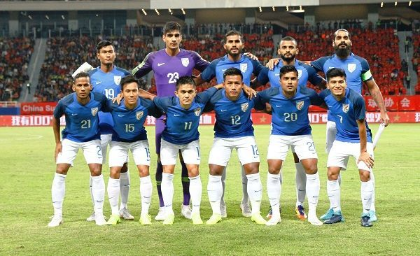 Indian National Football Team To Play Jordan In A Friendly On