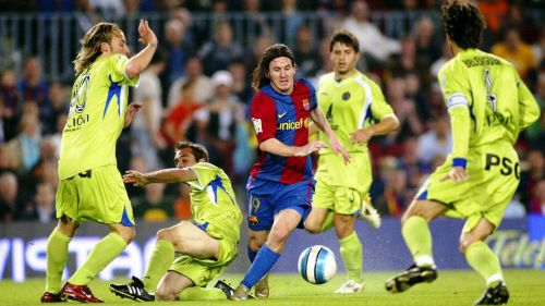 Unstoppable: Lionel Messi at 19 years