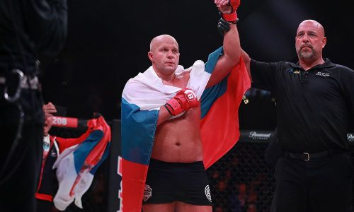 Fedor Emelianenko - Will now contest the Heavyweight Final versus Ryan Bader