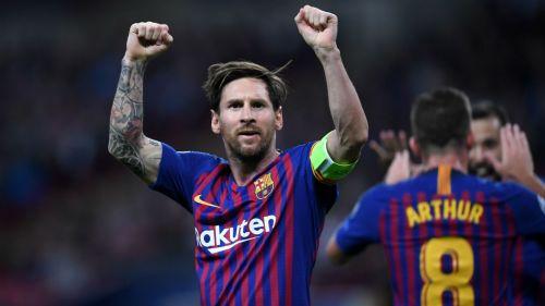 Lionel Messi Tottenham Hotspur v FC Barcelona UEFA Champions League 03102018