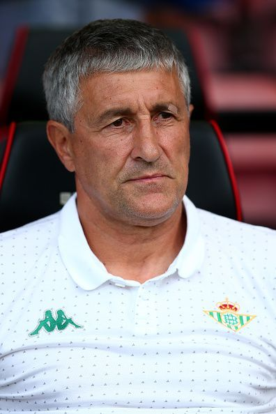Quique Setien led Real Betis to