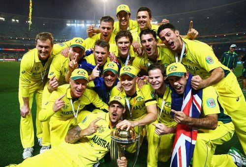 Australia- 2015 ICC Cricket World Cup winners