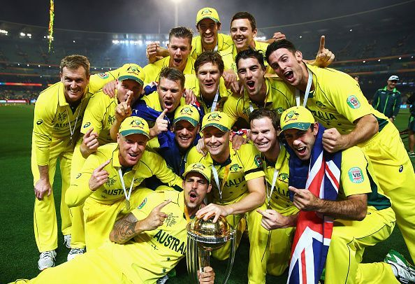 Australia- 2015 ICC Cricket World Cup winners