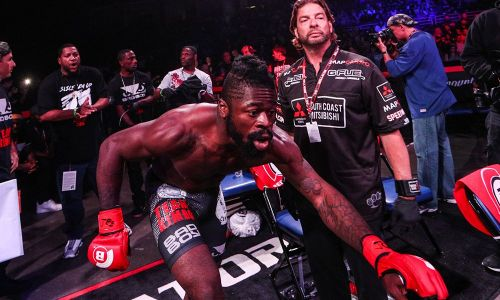 It was not a good night at the office for Kevin Ferguson Jr.