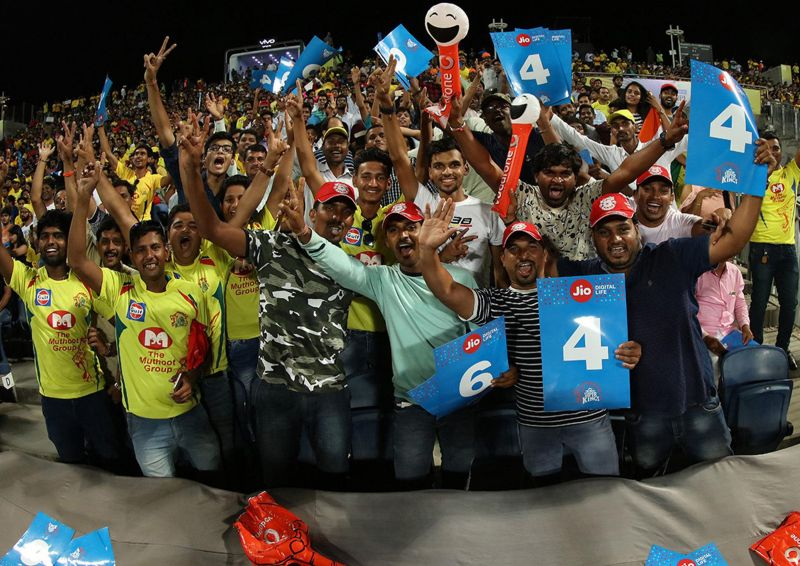 There are a huge number of IPL fans in small cities of India