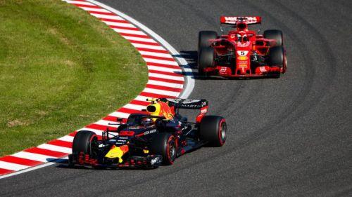 Vettel and Verstappen collided in Suzuka