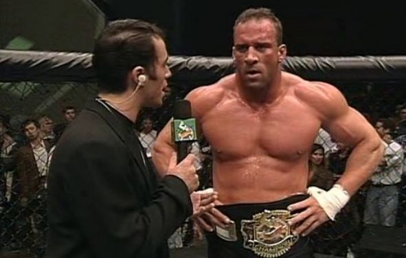 The first ever UFC Heavyweight Champion - Mark