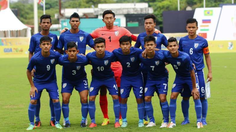 India hosted the FIFA U-17 for the first time in 2017